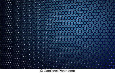 sound - Beautiful close up net texture of black sound...