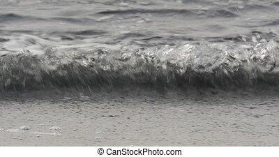 Beautiful closeup of waves