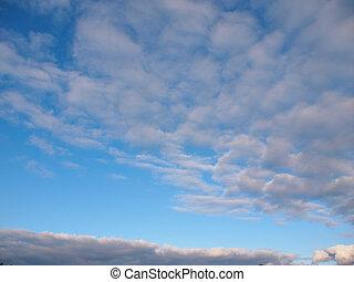 Beautiful clouds in the sky