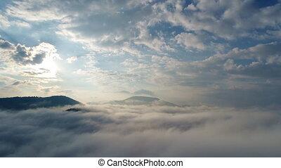 Beautiful clouds over Carpatian mountains - Beautiful clouds...