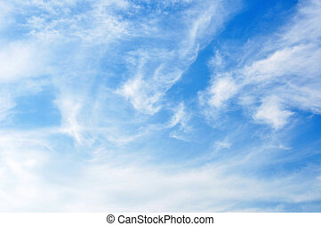 Beautiful cloudy sky as natural background