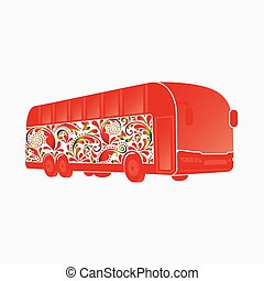 Beautiful coach bus.