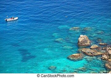 Beautiful Coast - Coast near the town of Tropea region ...