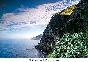 Beautiful coast of Madeira island