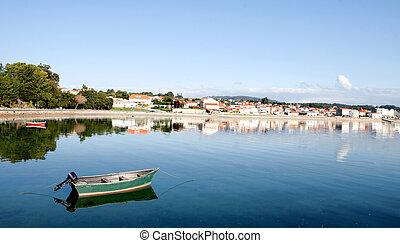 Beautiful coastal town