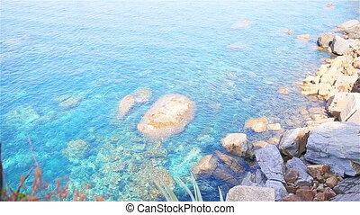 Beautiful coastline at Cinque Terre, Liguria, Italy....