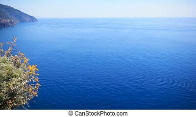 Beautiful coastline at Cinque Terre, Liguria, Italy. -...