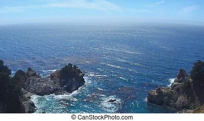 Beautiful Coastline in Big Sur,California - Beautiful...