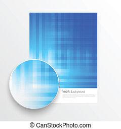 Beautiful color grunge design elements. Vector