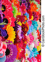 Beautiful colored flowers