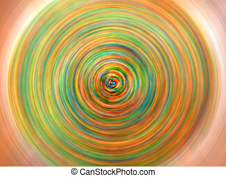 Beautiful Colorful Circle Pattern Background For Photo Editing