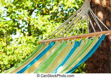 beautiful colorful hanging chari