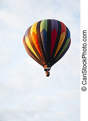 Beautiful Colorful Hot Air Baloon-Eight