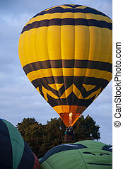 Beautiful Colorful Hot Air Baloon-Eleven