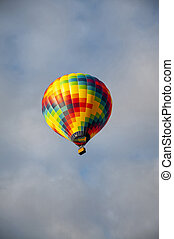 Beautiful Colorful Hot Air Baloon-Four