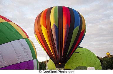 Beautiful Colorful Hot Air Baloon-Seven