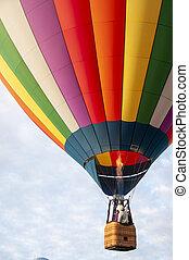 Beautiful Colorful Hot Air Baloon-Ten