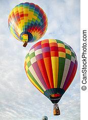 Beautiful Colorful Hot Air Baloon-Thirty