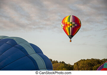 Beautiful Colorful Hot Air Baloon -Thirty Four