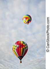 Beautiful Colorful Hot Air Baloon -Thirty One