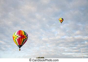 Beautiful Colorful Hot Air Baloon - Thirty Three
