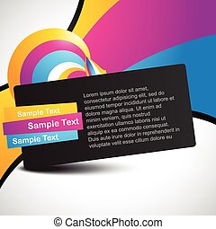 beautiful colorful vector design