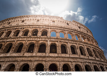 Beautiful Colosseum in Rome