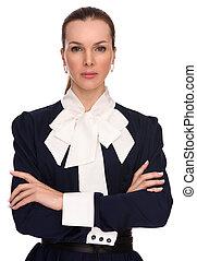 Beautiful confident business woman