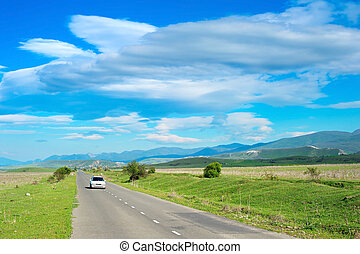 Beautiful country road, Georgia