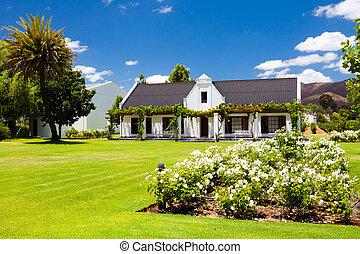beautiful countryside house