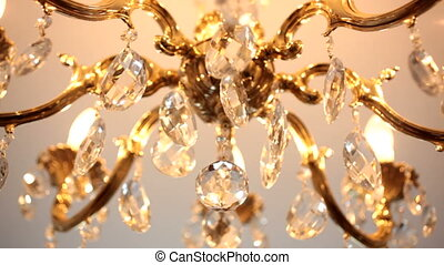 Beautiful crystal chandelier - crystal chandelier. CU,...