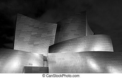 Beautiful Curvy Modern Metal Building - Modern Metal ...