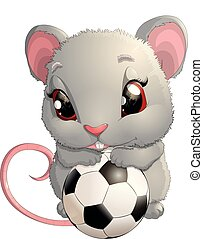 beautiful cute mouse