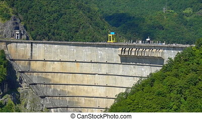 beautiful dam, hydroelectric power station - beautiful dam ,...