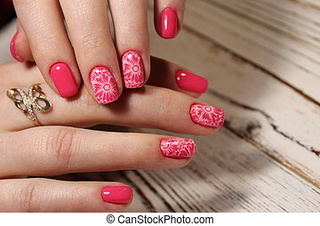 beautiful design manicure