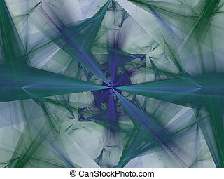 Beautiful diamond. 3d illustration, nice abstract background.