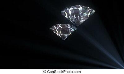 Beautiful Diamonds flying loop