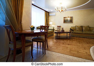 room to rich hotel - Beautiful divan in a room to rich hotel