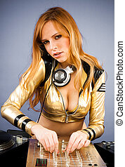 Beautiful DJ girl