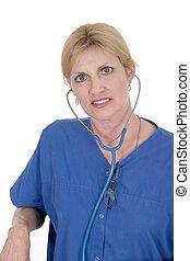 Beautiful Doctor or Nurse 18