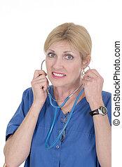 Beautiful Doctor or Nurse 19