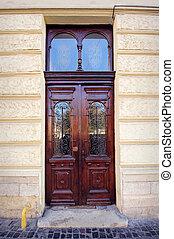 beautiful doors on the street