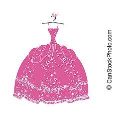 Beautiful dress for a princess