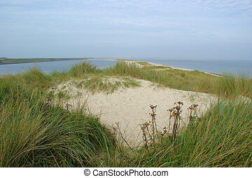 dunescape - beautiful dunescape on the isle of Sylt in the ...