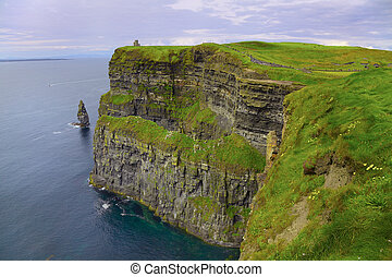 Cliffs of Moher - Beautiful dusk landscape of Cliffs of...