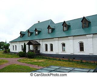 beautiful dwelling of monks - the image of beautiful...