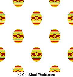 Beautiful easter egg pattern seamless