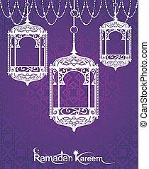 Ramadan Kareem Lanterns