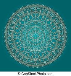Beautiful ethnic mandala