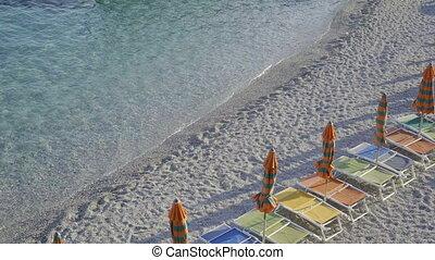 Beautiful european seashore in Italy, Cinque Terre, Liguria